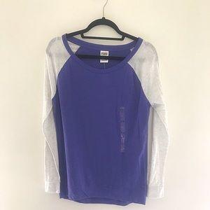 VS PINK Long Sleeve Lounge Shirt